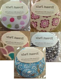 100% COTTON WASHABLE BRA NURSING BREAST PADS Fun Prints! Reu