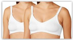 2-Pack Wynette by Valmont Maternity Soft-Cup Nursing Bra, WH