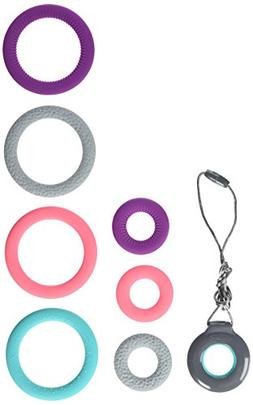 Infantino Pop of Color Chewy Teething Pendant & Bracelets