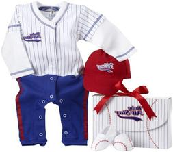 Baby Aspen Big Dreamzz Baseball Layette Set
