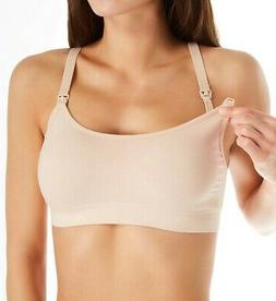 Playtex BLUSH Nursing Seamless Racerback Wireless Crop Bra,