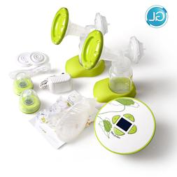 Brand GL Electric Double Breast Pump with Feeding Gift <font