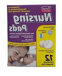 Parent's Select Disposable Nursing Pads for Bra  12 Individu