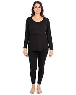 Kindred Bravely The Jane Maternity & Nursing Thermal Pajamas