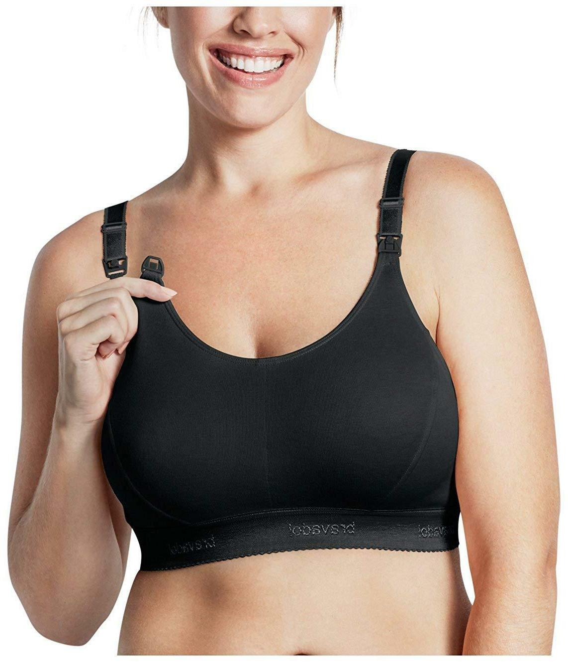 1013 original double plus nursing bra in