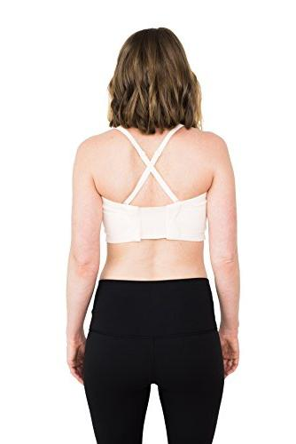 Simple Wishes Signature Hands Free Bra, Pink, XS-Large