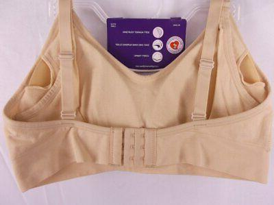 LOVING MOMENTS LEADING LADY MATERNITY NURSING BRA A-D NUDE NWOT