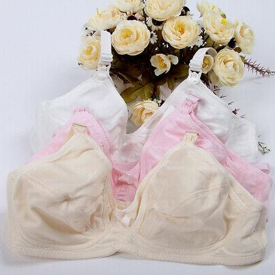 Women Maternity Bra Breastfeeding Soft Pregnant Feeding Nurs