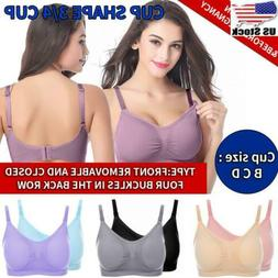 Maternity Seamless Nursing Bra Pregnancy No Wire Breastfeedi