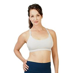 bamboobies Maternity Seamless Yoga Nursing Bra for Breastfee