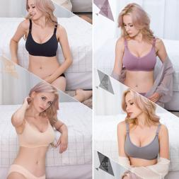 e9d8ffa71a806 Editorial Pick New Women Soft Maternity Breastfeeding Bra Lady Seamless Nur