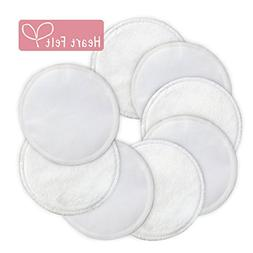 Nursing Pads, Reusable Bamboo Breast Pads  By Heart Felt. En