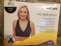 Medela Nursing Sleep Bra, Black, Medium