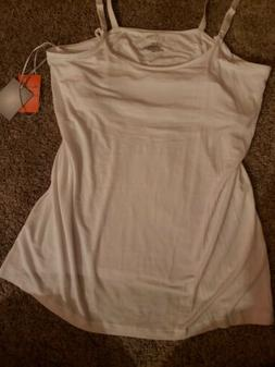 NWT New a:glow MATERNITY Nursing Cami Bra Tank Top Women's X