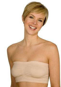 46b2c6576a La Leche League International Womens  Seamless Strapless Bra
