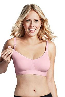 Bravado! Designs Women's Body Silk Seamless Nursing Bra, Pin