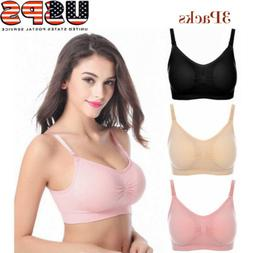 women nursing bras lot 3pcs maternity bra
