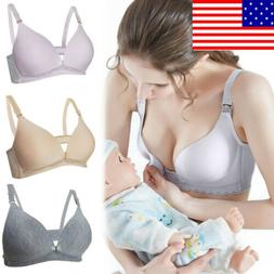 Women's Pregnant Maternity Bra Wireless Ladies Breastfeeding