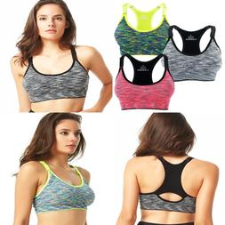 Women's Seamless Wirefree Racerback Adjustable Straps Yoga S
