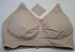 Womens Hands Free Breast Pumping/Nursing Bra Wireless. New.