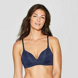 Womens Auden Nursing Wirefree Bra Smart Blue 34B