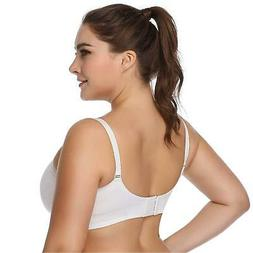 Lataly Womens Seamless Nursing Bra, Black, Size L Fit 36D 36
